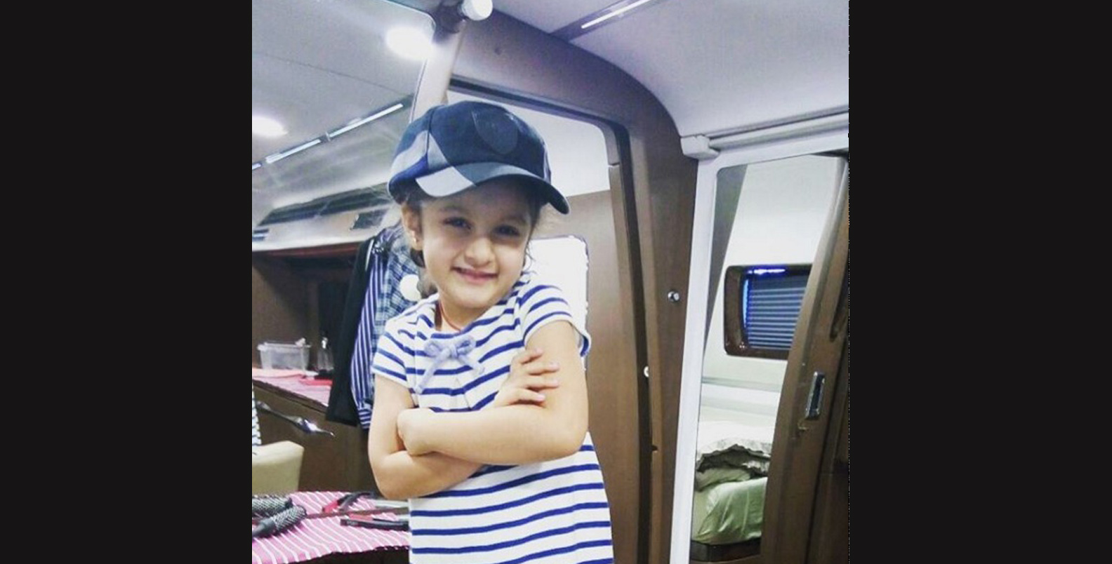 Mahesh Babu, Namrata Shirodkar's daughter is the cutest kid!!!! Check out her adorable pictures!.jpg 3